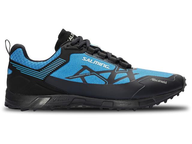 Salming Ranger Shoes Men dark grey/spring blue